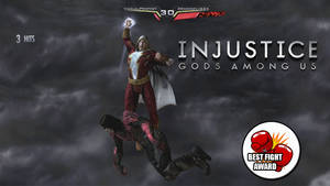 Youtube Custom Thumbnail: Injustice KOTH # 1 by Dragonfly224