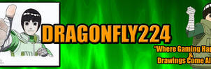 Rock Lee Youtube 2013 Banner[Dragonfly] by Dragonfly224