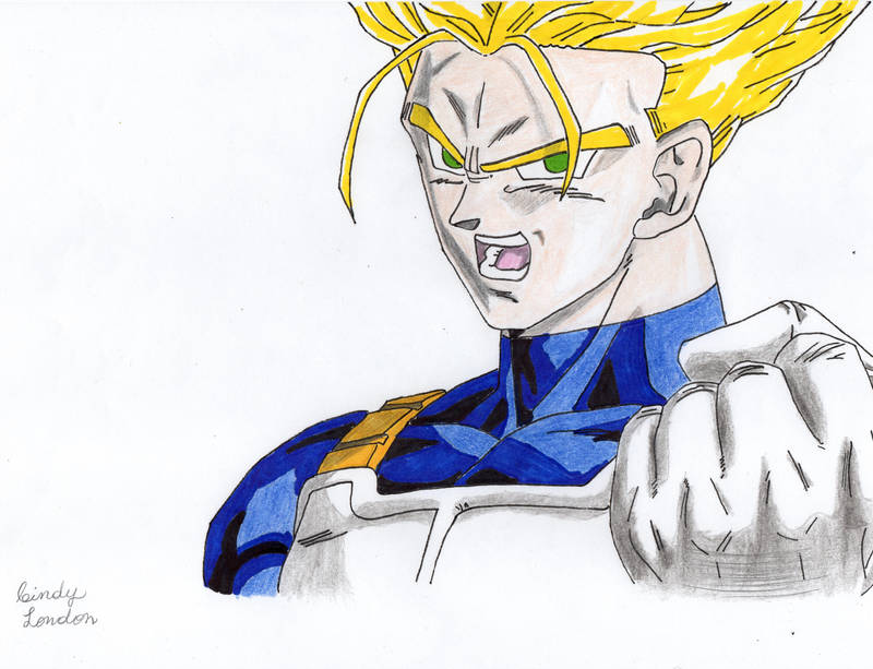 Super Saiyan Future Trunks by Dragonfly224