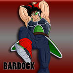 Bardock Attacking Icon by Dragonfly224