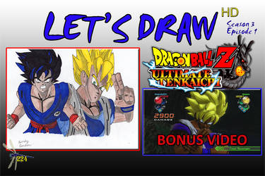 Let's Draw S3 Episode 1 THUMBNAIL by Dragonfly224