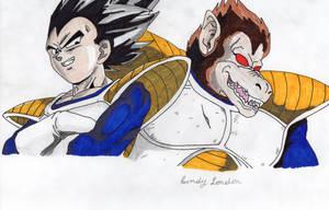 Vegeta (Saiyan Saga) by Dragonfly224