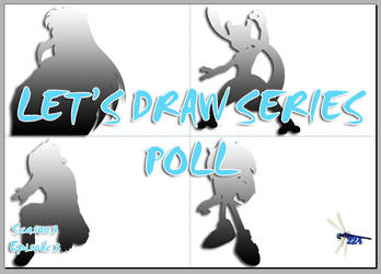 Let's Draw S3 E3 POLL THUMBNAIL by Dragonfly224