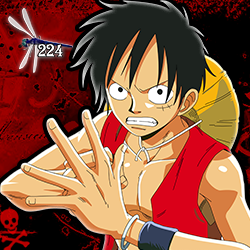 Monkey D. Luffy Icon [Dragonfly] by Dragonfly224
