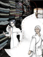 at the tailor's shop by oddno1ishere