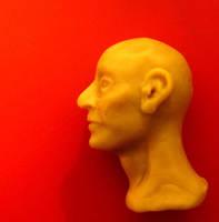 Head + neck practice-older man by oddno1ishere