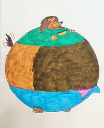 Winnie's Thanksgiving Feast part 9 by mj455