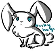 Bunny rabbit by HuskyHugs