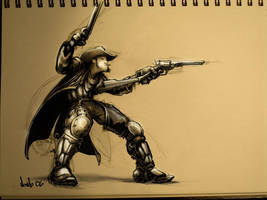 Cowboy by FedericoNovelo