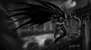 Batman leap by FedericoNovelo