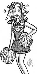Filler - Lolly the Cheerleader by Mary-Sue-Academy