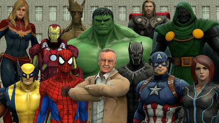 Thank you Stan Lee by kongzillarex619