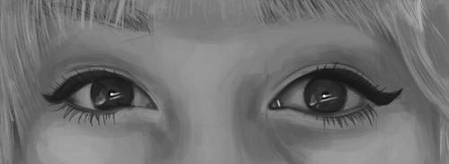 Eyes Painting 4 by Russtiel