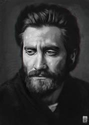 Jake Gyllenhaal - FanArt by Russtiel