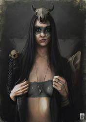 The Bone Witch by Russtiel