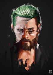 Jared Leto Portrait by Russtiel