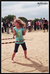 Marley Fest Hoop Girl by punkdoutkittn