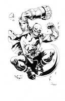 Hellboy by TomRaney