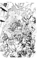 Secret Wars by TomRaney