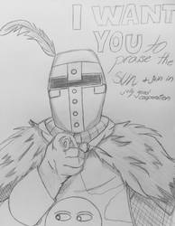 Inktober #4: Uncle Solaire by fangcross666