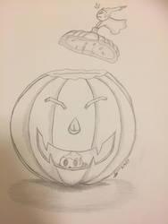 Inktober #9: Halloween Helpers by fangcross666
