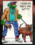 Chav TMNT by dikiminster