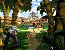 Monkey Island by slempens
