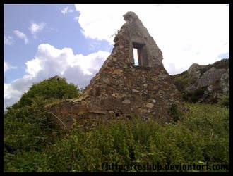 Howth ruins by Cashub