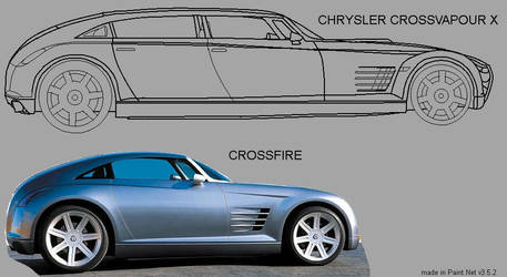 The Chrysler CROSSVAPOUR X by MrSlowNiko