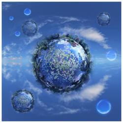 Worlds of Waterlillies by bluebabylove