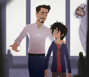 (85) Hiro meets a hero/ The Apprentice by Omario2d