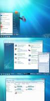Windows 7 theme v2 for Vista by ganesh-india
