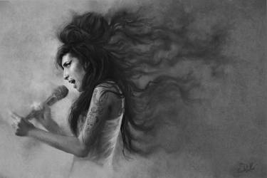 Amy Winehouse by SteveDeLaMare