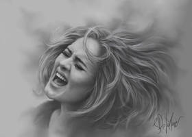 The Power Of Adele by SteveDeLaMare