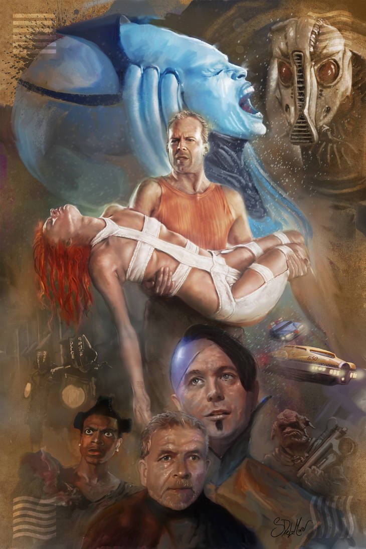 The 5th Element by SteveDeLaMare