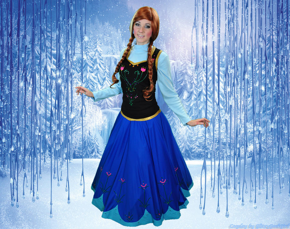Frozen Princess Anna Cosplay by glitzygeekgirl on DeviantArt e88721532df