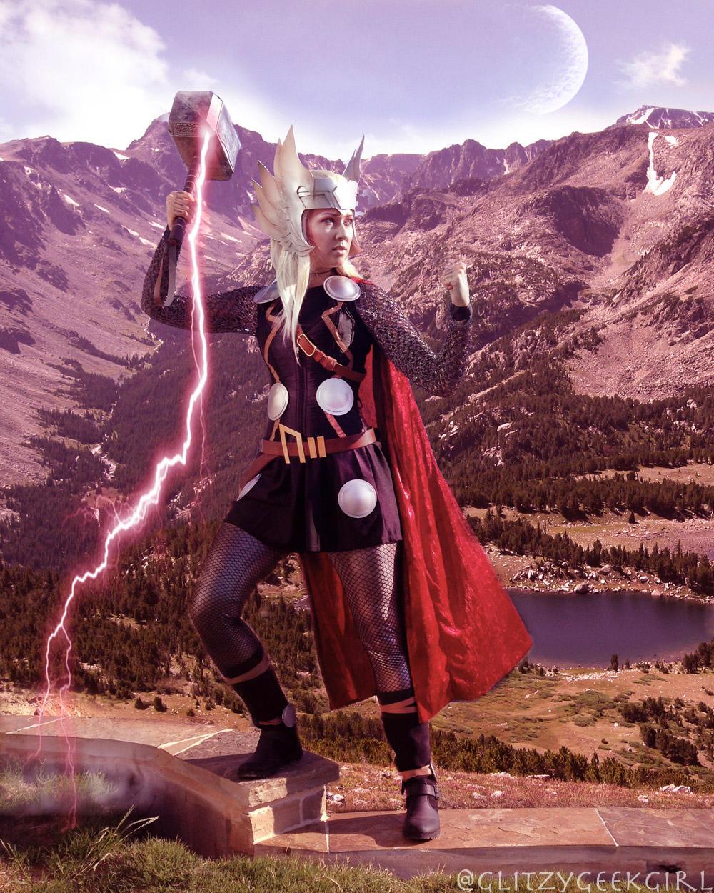 Thor Cosplay by glitzygeekgirl Thor Cosplay by glitzygeekgirl ad69b21bfd7