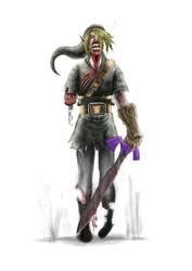 Zombie Link by oshikuma