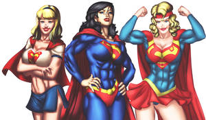 Commission : Supergirl 2 by artoftheman