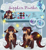 Cloudy Reference: Sapphire Feather by Wilvarin-Liadon