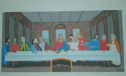 The last supper by vropas