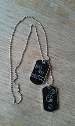 Dog-tag, front side by vropas