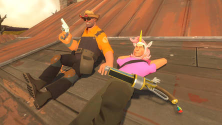 Bronies in TF2 by MasterChica1987
