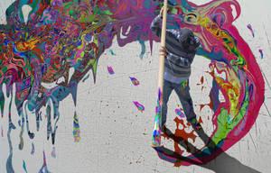 Paint Mess by ScottyRobotty