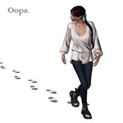 Footprints by EnglishBob