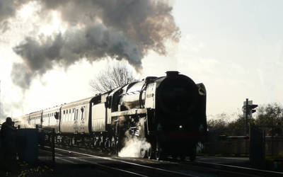 Oliver Cromwell Heads North by EnglishBob