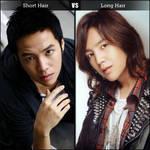 Short Hair VS Long Hair by Hentaro