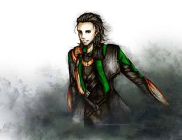 Loki, Prince of Asgard by ShadowsIllusionist