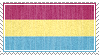 pansexual stamp by zuniStamps