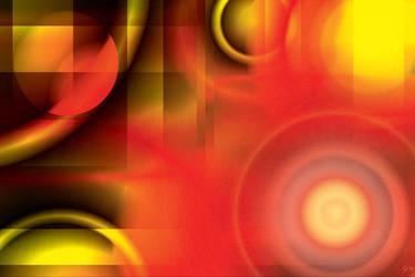 Abstract in Reds and Yellows by StevenHanly